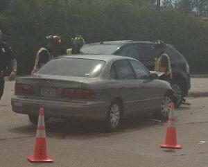 Lauren's car wreck